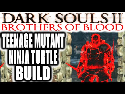 Dark Souls 2 Pvp: Extreme Rage: Brothers Of Blood - Teenage Mutant Ninja Turtle Build video