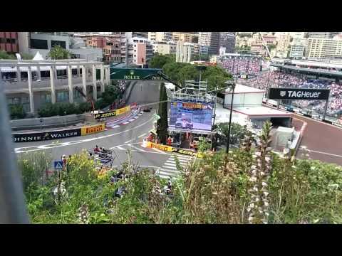 Formula 1 Monaco Monte Carlo 2015