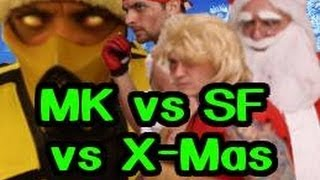 MORTAL KOMBAT VS STREET FIGHTER VS CHRISTMAS