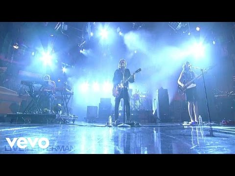 Silversun Pickups - Dots and Dashes (Live on Letterman)