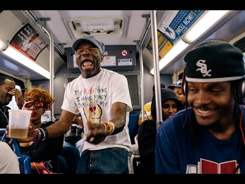 Riding the X2 with D.C.'s most famous rapper
