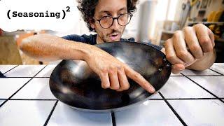 Can I make my Wok slicker than a Nonstick Pan ?