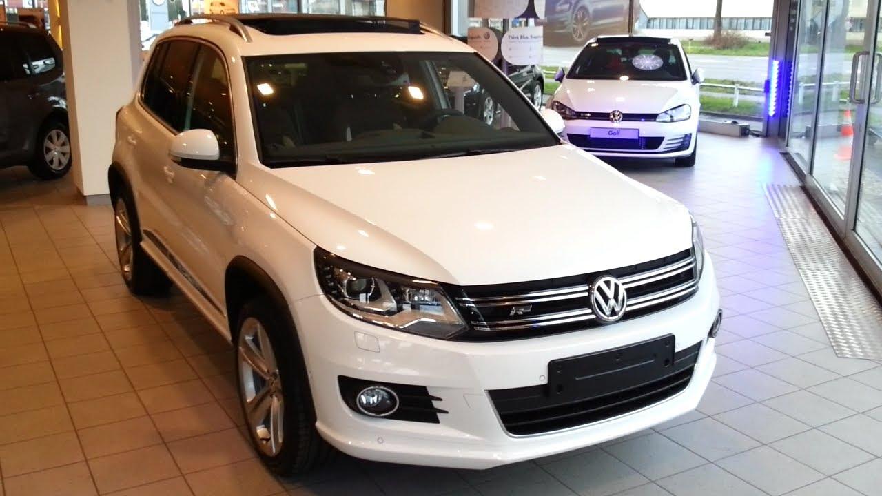 Volkswagen Tiguan R Line 2014 In Depth Review Interior Exterior - YouTube