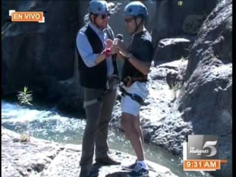 TVC Las Mañanas del 5: Las Mañanas del 5: turisteando con Eduardo Andonie por Gracias Lempiras
