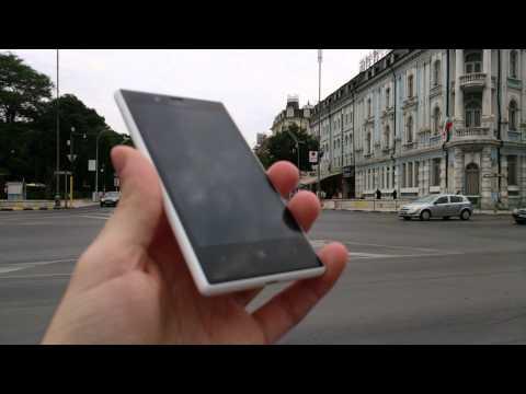 Sony Xperia ZR Sample Video