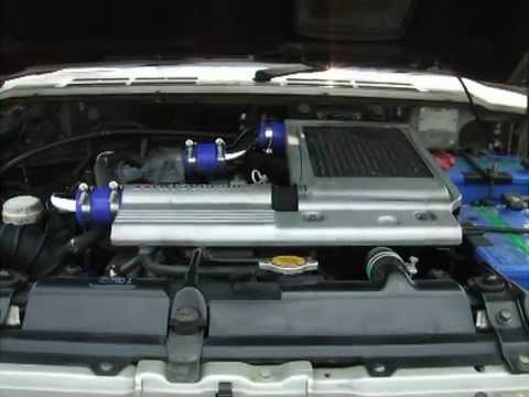 Mitsubishi PAJERO KD-V46WG 4M40 電子制御式 2.8 turbo diesel 01