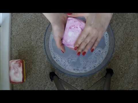 Mydło Peelingujące, Test Z Cukrem, Solą I Ksylitolem