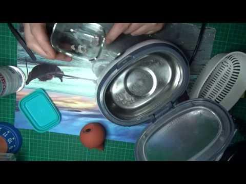 ультразвук с бензином чистка механизма часов!fast watch  movement cleaning!