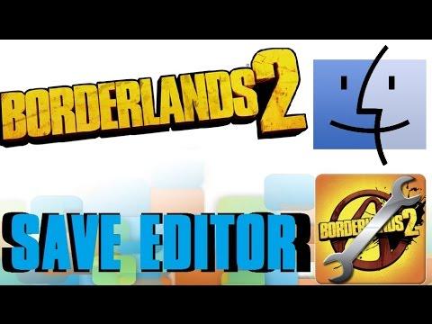 Mod Borderlands 2 Save Files! (Mac)