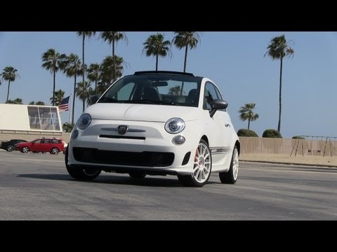 2013 Fiat 500 Abarth Convertible First Drive & Review