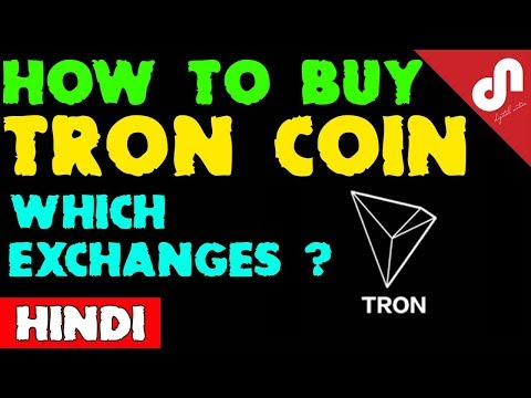 How to Buy Tron Coin (TRX) in India - Step By Step Tutorial [Hindi]