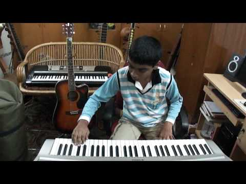 C.Prithvinath Reddy playing Keyboard old Hindi song film;chitchor song; gorie thera