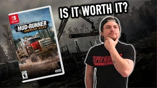 Spintires Mudrunner Nintendo Switch Review - IS IT WORTH IT?