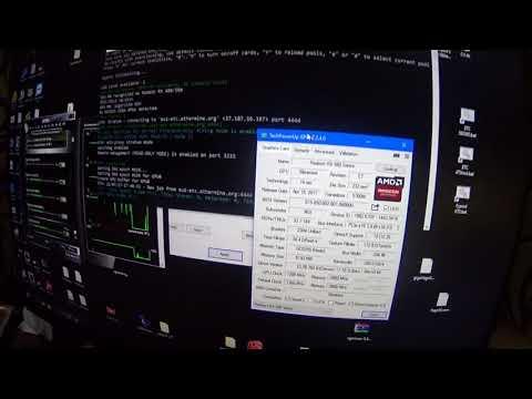 Про MSI ARMOR RX 580 8GB (hynix) прошивка и потребление в майнинге
