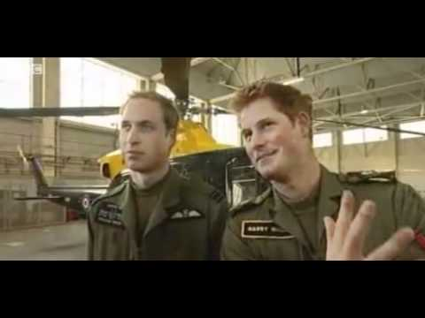 Prince Harry - I'm better than Prince William 2009.mpg