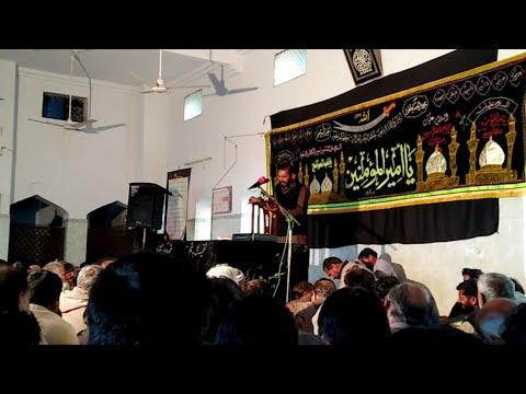 زاکر حبیب رضا جھنڈوی امام کوٹ حسینی تلہ گنگ