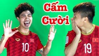 Siêu Hài Hước: Công Phượng trêu Quang Hải cười rũ rượi ở buổi ra mắt áo ĐT Việt Nam