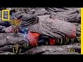 Follow a Lava River's Mesmerizing Path of Destruction | Short Film Showcase