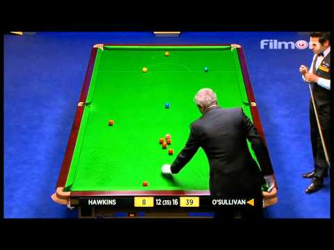 Ronnie O'Sullivan vs Barry Hawkins - WSC 2013 Final - Last session