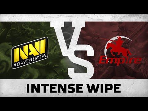 Intense wipe by NaVi vs Team Empire  DreamLeague S3