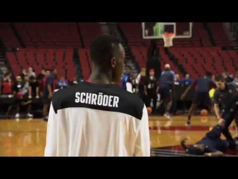 Dennis Schrder beim Nike Hoop Summit