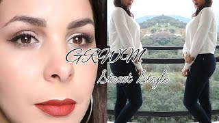 [MAKE-UP/FASHION] Get Ready with me : maquillage simple et lumineux/ Tenue street wear