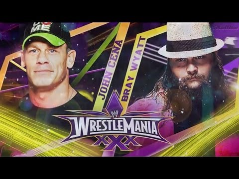 WWE Wrestlemania 30 - John Cena vs Bray Wyatt - Full Match HD