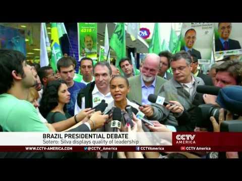 Polls show Marina Silva leads in Brazil's presidential race