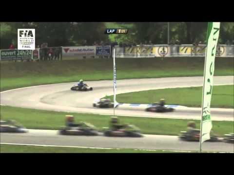 Mick Junior (Michael Schumacher's son) - 2nd place World Championships 2014 KF (short version)