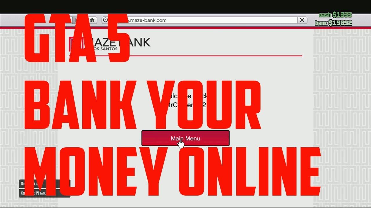 Banking Money Gta 5 Online Gta 5 Online How to Bank Your