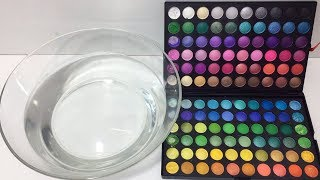 Mixing 100+ Eyeshadow Into Clear Slime | Most Satisfying Slime Videos ! Tom Slime