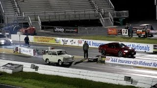 I Took My Trabant to the Drag Strip