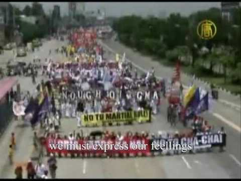 Democracy is just an imagination. philippines wmv