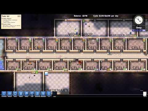 New alpha 6! Let's play prison architect part 4