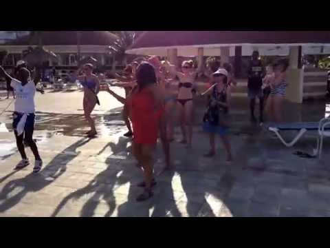 Trip jamaica march 2014 grand bahia principe, dancehall session