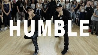"""HUMBLE"" - Kendrick Lamar Dance | @MattSteffanina (ft Devvon Terrell)"