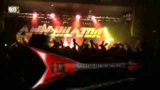 ANNIHILATOR - Alice in hell (live)