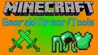 Minecraft: Emerald Armor/Tools [1.6.2]