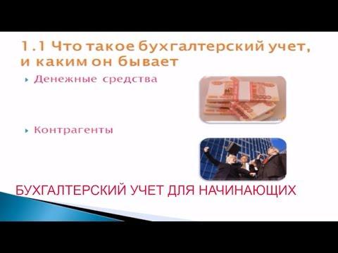 Уроки по бухгалтерии - видео