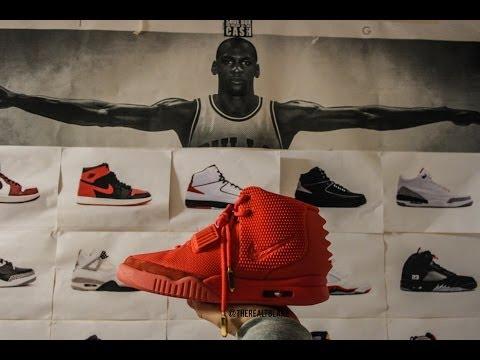Yeezy 2s In Nike Outlets? | B Grade Air Yeezys