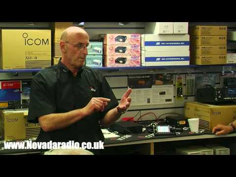 ICOM IC-7100 Transceiver Preview with John Turner at Nevada Radio UK