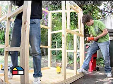 H galo usted mismo programa 23 de mayo 2010 youtube for Casas infantiles de madera para jardin