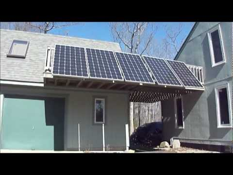 Solar Energy Simple Home Solar DIY Grid Tie Solar Panels
