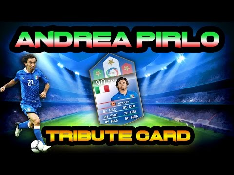ANDREA PIRLO TRIBUTE CARD! FIFA 14 ULTIMATE TEAM