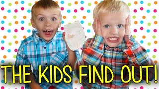 Kids React to Baby News || Finding Out Mommy