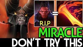 Miracle- [Doom] Carry Counter Tanky | Dont Try This 7.15 Dota 2