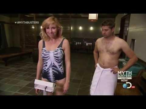 Kari Byron - Mythbusters - Swim Suit Sauna