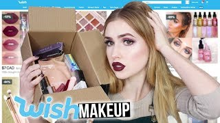FULL FACE USING MAKEUP FROM WISH!!