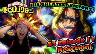 THE SMASH THAT SHOOK THE NATIONS!! | S3 Episode 11 | Kitty Reacts To: My Hero Academia
