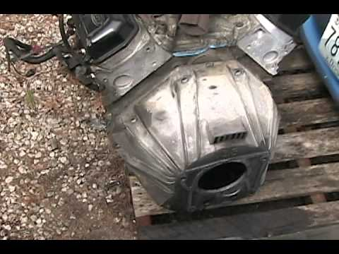 Mustang Engine Transmission Separation 3 8l Aode Youtube